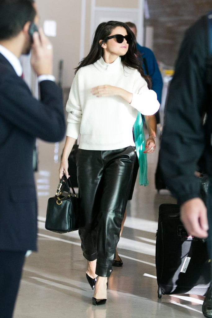 She Carries the Brand's Bags on All Occasions
