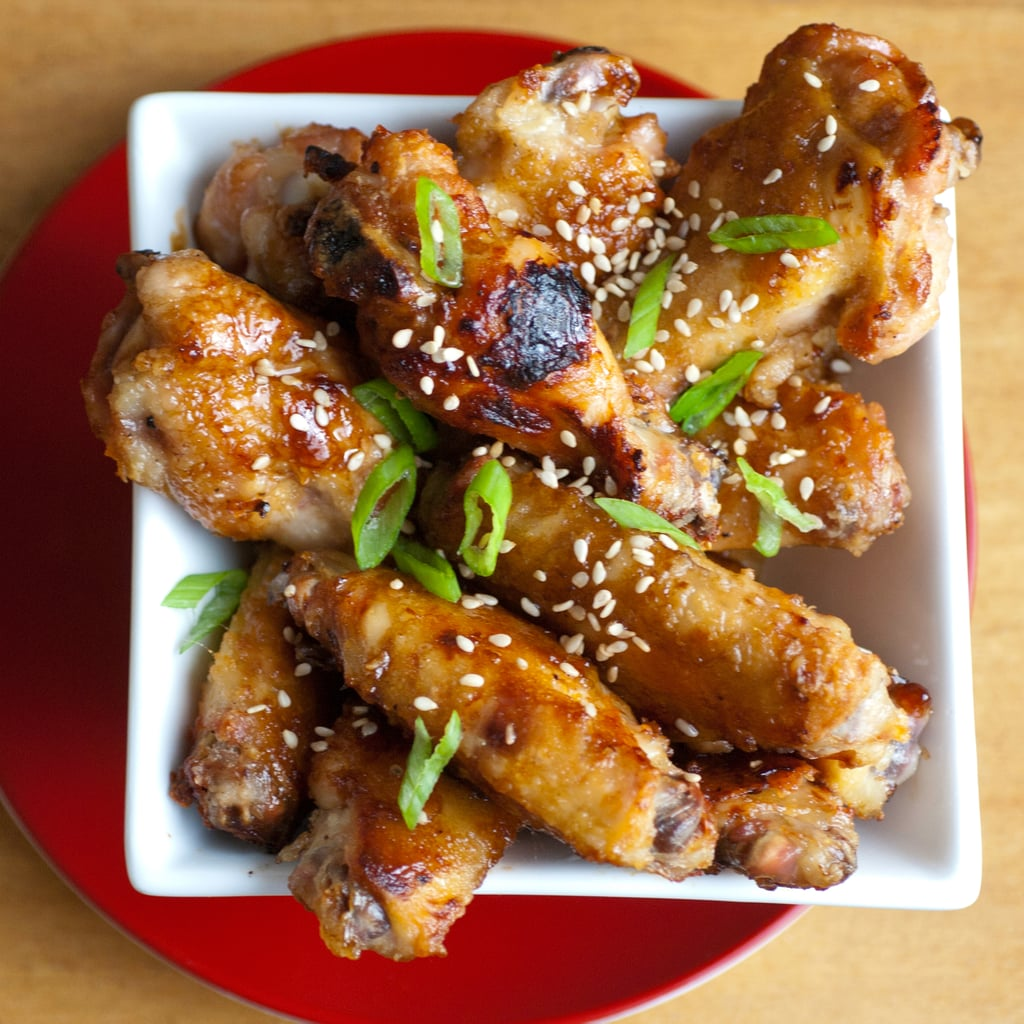 Hoisin-Glazed Chicken Wings