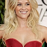 Reese Witherspoon's Middle Part in 2012