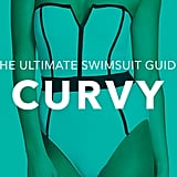 Curvy: You're curvy throughout with a full bust, hips, thighs, and butt, like Christina Hendricks, Scarlett Johansson, and Kim Kardashian. What to look for: For curvy frames, the key is to highlight your curves while providing enough support and coverage. If you're not keen on exaggerating your curves, then steer clear of monokinis or string bikinis with thicker ties, which can accentuate your widest areas. Tips and tricks:  Asymmetrical suits draw the eye toward the neckline, highlighting the beautiful line from a woman's neck to her collarbone. Colorblocking can help highlight your shape, as do retro suits (think high waists and boxy halter tops).