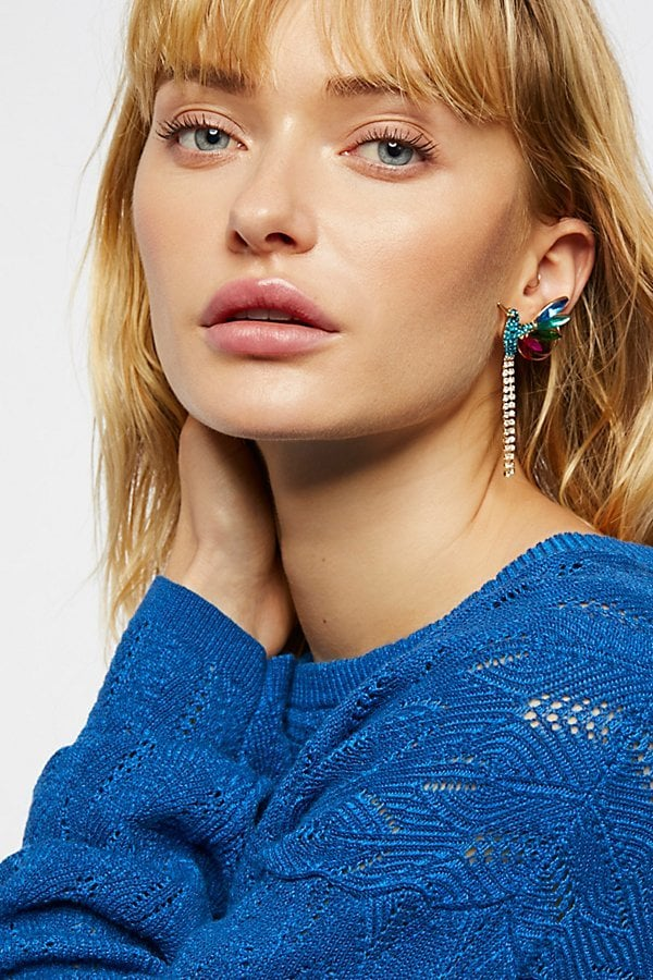Free People Paradise Crystal Earrings