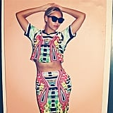 Beyoncé brought out the Sasha Fierceness in bright colors and dark shades. Source: Instagram user beyonce