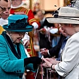 Queen Elizabeth II at Royal Maundy Service April 2017