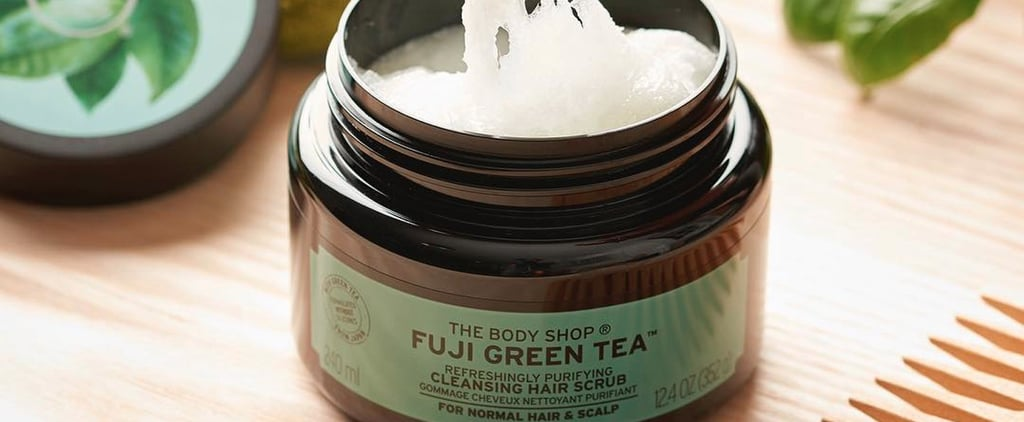 The Body Shop Green Tea Hair Scrub