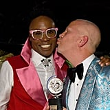 Billy Porter and Ryan Murphy