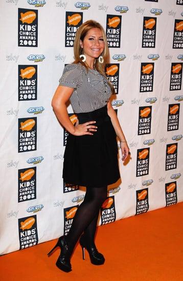 2008 Nickelodeon UK Kids' Choice Awards: Heidi Range