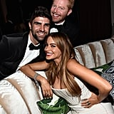 Sofia Vergara hammed it up with her Modern Family costar Jesse Tyler Ferguson and his husband, Justin Mikita.