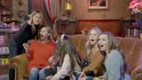 Jennifer Aniston Scares Fans on the Set of Friends | Video
