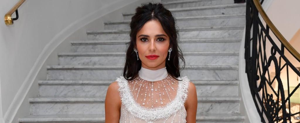Cheryl Cole's White Dress Cannes Film Festival 2018