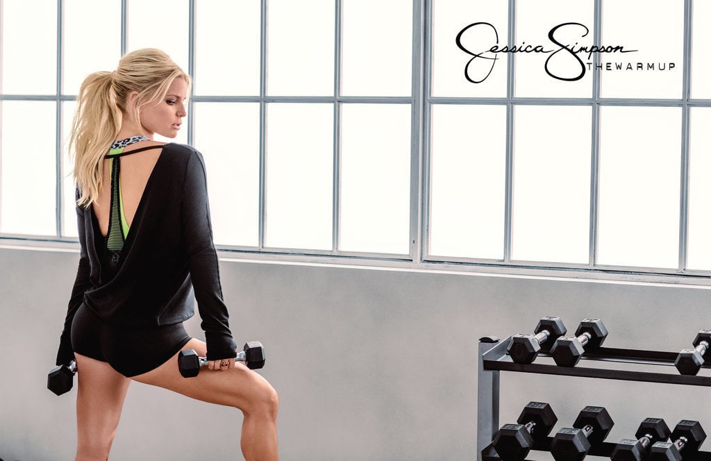 Jessica Simpson: The Warm Up   Stylish and Affordable