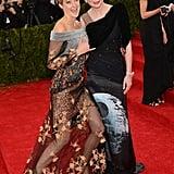 Shailene Woodley met up with Kirsten Dunst in 2014.