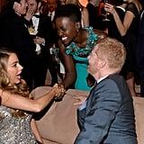 Lupita Nyong'o Sets Tinseltown Aglow at Weinstein's SAGs Bash