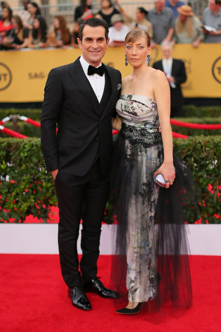 Ty And Holly Burrell Couples At The Sag Awards 2015