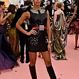 Laura Harrier at the 2019 Met Gala