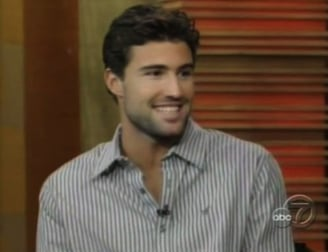 Brody Jenner Appears on Live With Regis and Kelly and Discusses BlackBerry Messenger