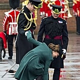 Kate did not have the luck of the Irish when she got her heel stuck in a grate on St. Patrick's Day.