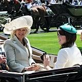 Prince Charles, Camilla, Princess Beatrice, and Princess Eugenie, 2011