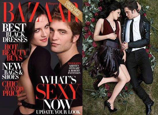 Photos From Robert Pattinson and Kristen Stewart's Harpers Bazaar Shoot