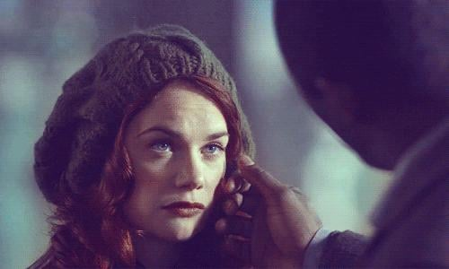 When Luther touched Alice's face and we just melted into a puddle.