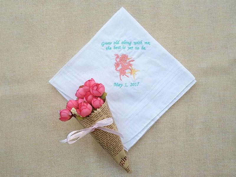 Unicorn Personalized Handkerchief