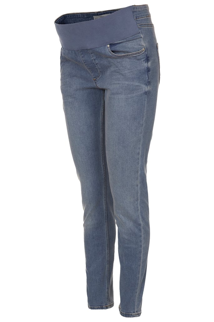 Topshop's Maternity Jamie Jeans ($80) are supersoft denim in a light, stone-washed color that pairs nicely with the season's floral tops.