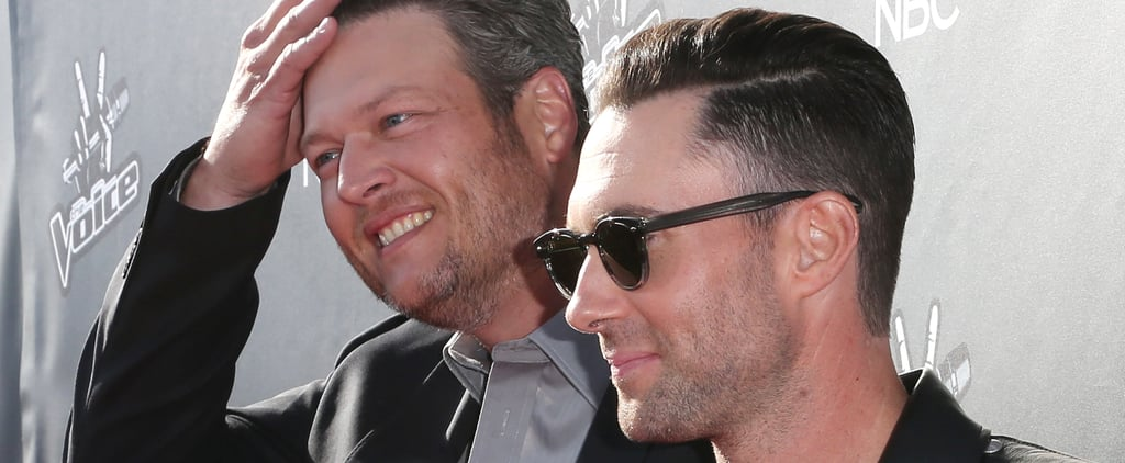 """Adam Levine and Blake Shelton's Brotherly Love Calls For """"Talking Sh*t"""""""