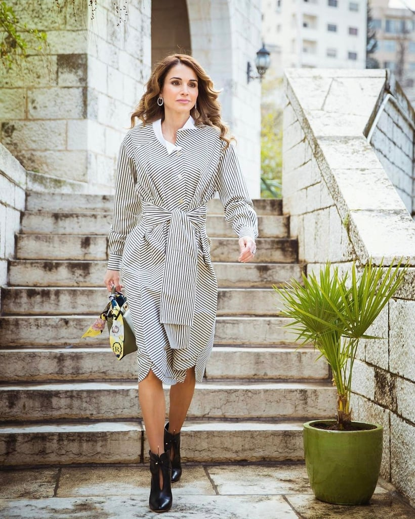 Where to Buy Queen Rania's Loewe Shirtdress
