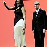 Michelle Obama Colorblock Maxi Dress
