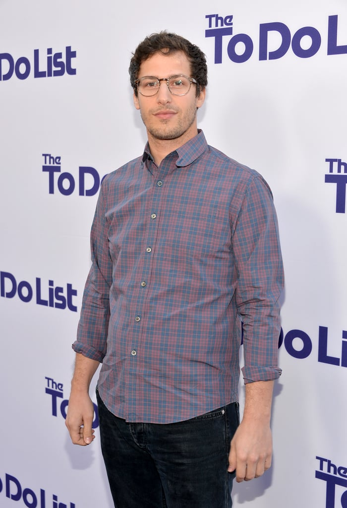 Andy Samberg hit the red carpet in LA.