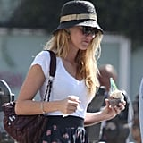 Blake Lively picked up ice cream in LA.