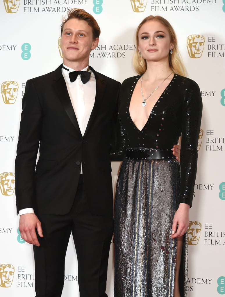 George MacKay and Sophie Turner