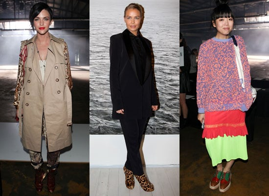 Pictures of Front Row Celebrities From 2011 RAFW Day Four at Ellery and Josh Goot 2011-05-05 17:06:37