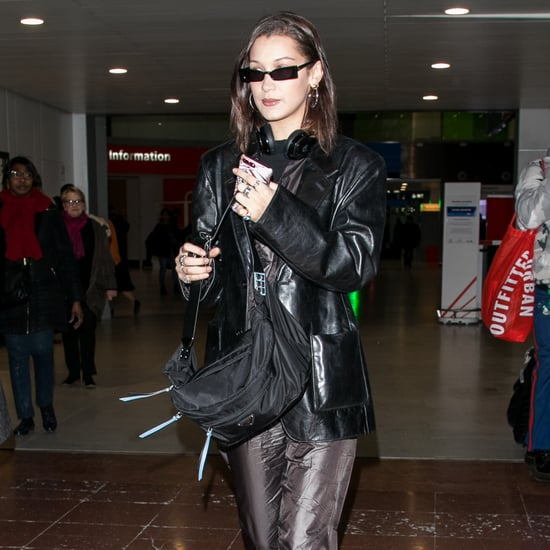 Bella Hadid Wearing Chanel Sneakers