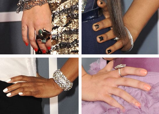2011 Grammy Awards Celebrity Manicures: Katy Perry, Rihanna, Lea Michele and More!