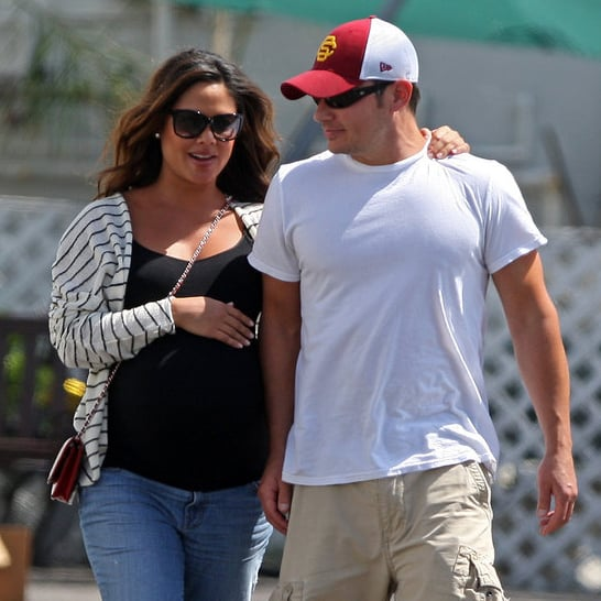 Pregnant Vanessa Minnillo and Nick Lachey Pictures