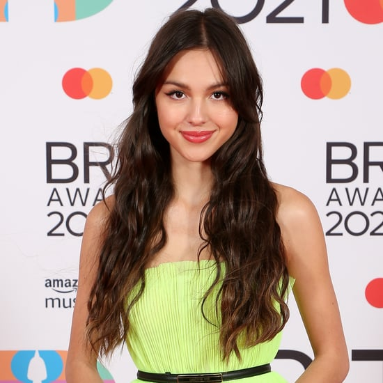 Olivia Rodrigo Passed Out Letters to Celebs at Brit Awards