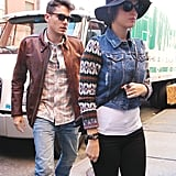 Katy Perry and John Mayer were seen together grabbing lunch.