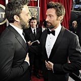 Ben Affleck and Hugh Jackman