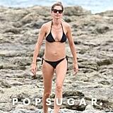 Gisele Bündchen's Black Bikini July 2018
