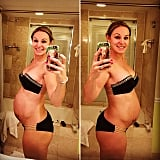 Pregnant Woman With Six-Pack