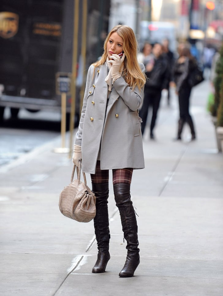 Thigh-High Boots Are Sexy No Matter What Else Youre Wearing  Gossip Girl Style -3996