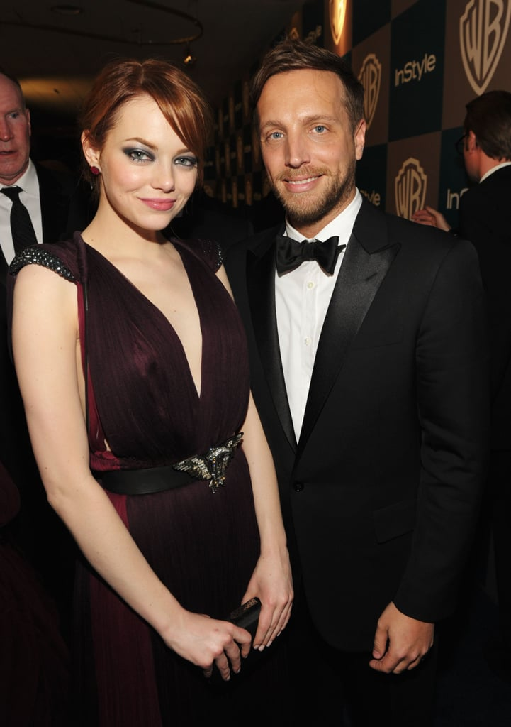 Emma Stone hung out with Ariel Foxman.
