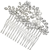 Accessorize Eloise Pearl and Diamante Flower Comb