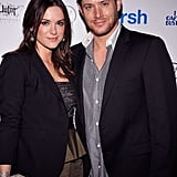 They stayed close at the Gersh Agency's NYC bash in April 2010.