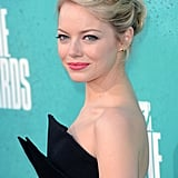 Emma Stone looked stunning on the red carpet.