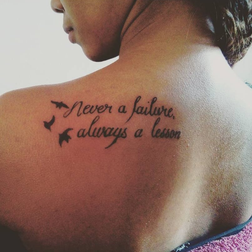 Cute Quote Tattoos | POPSUGAR Middle East Smart Living