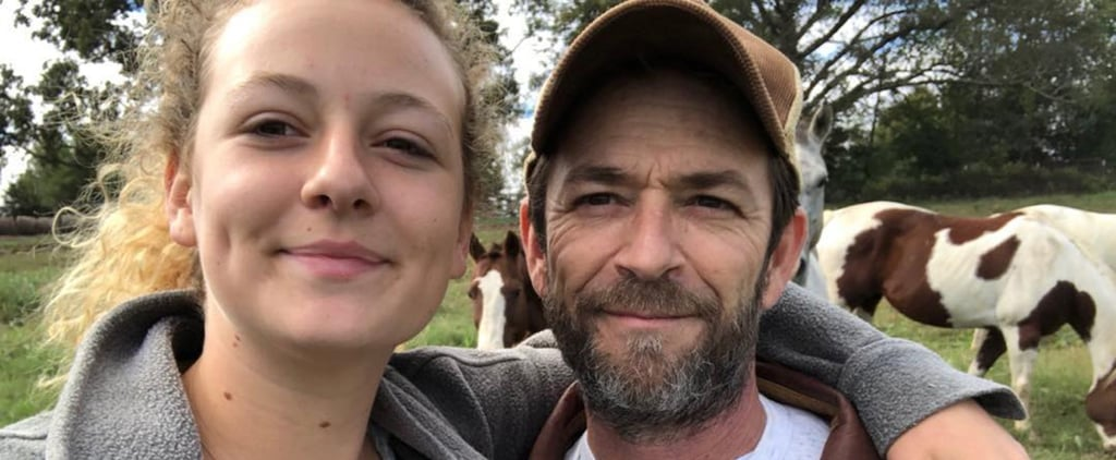 Luke Perry's Daughter Reacts to His Death