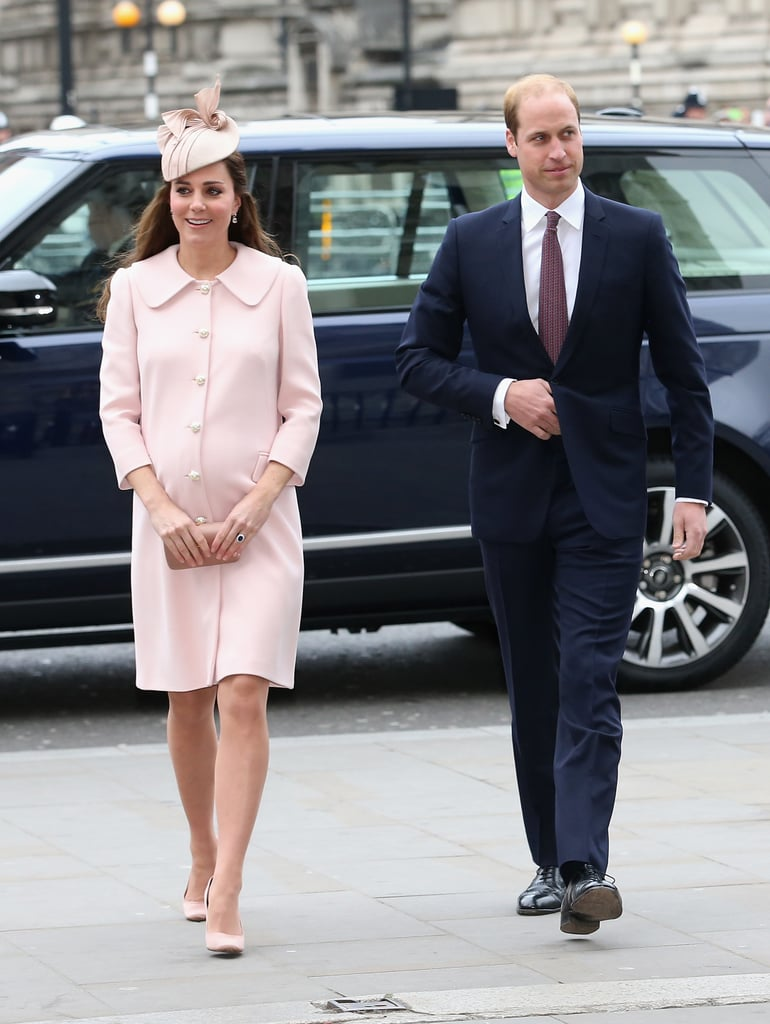 The Duchess of Cambridge Steps Out in a Favourite Maternity Look
