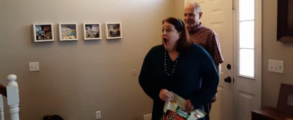 Couple Surprises Grandma With Rainbow Pregnancy News