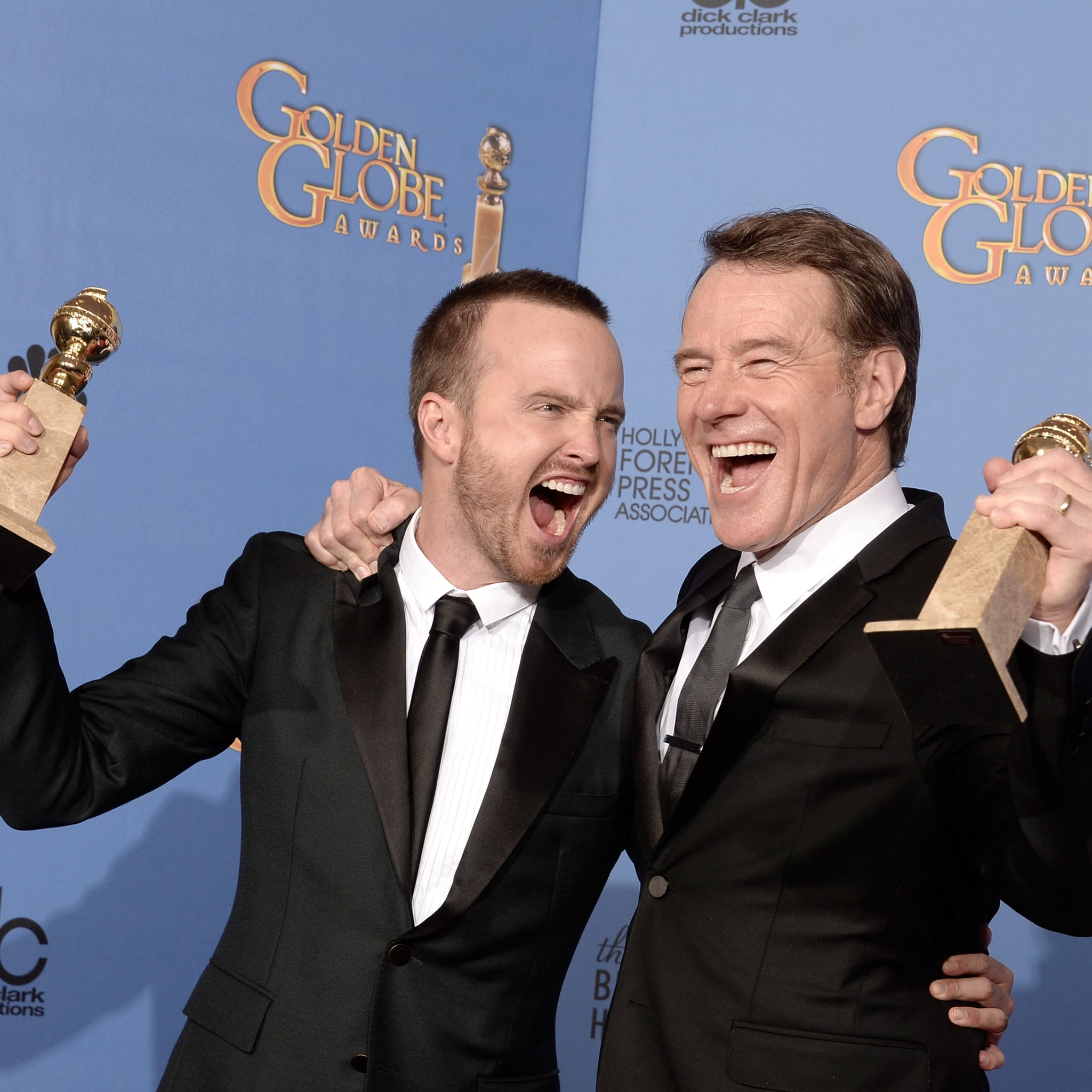 Bryan Cranston and Aaron Paul's Best Friendship Pictures | POPSUGAR Celebrity Australia